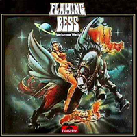 Flaming Bess - Verlorene Welt  CD (album) cover