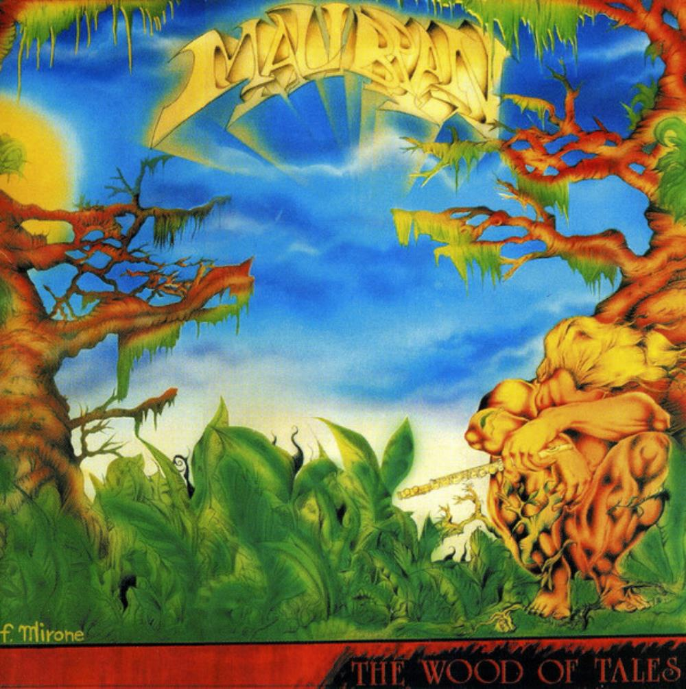 Malibran - The Wood Of Tales CD (album) cover