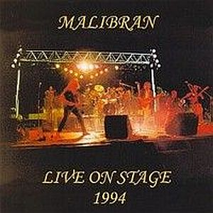 Malibran Live On Stage 1994 album cover