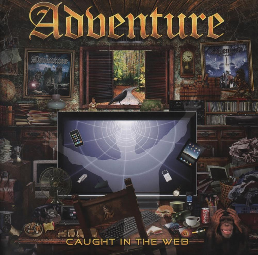Caught In The Web by ADVENTURE album cover