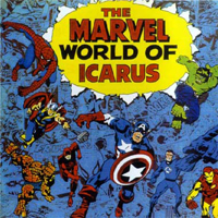 Icarus - The Marvel World Of Icarus CD (album) cover