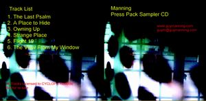 Manning - Burnside - The Sampler CD (album) cover