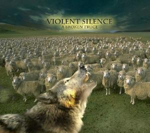 Violent Silence - A Broken Truce CD (album) cover