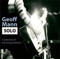 Geoff Mann Solo (Live + Demo-Tracks) album cover