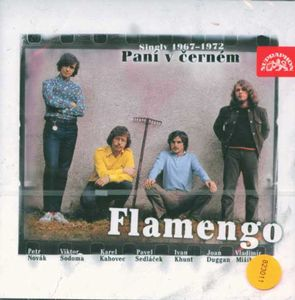 Flamengo - Pan� v cern�m (Singles 1967 - 1972) CD (album) cover