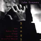John Greaves - Songs CD (album) cover
