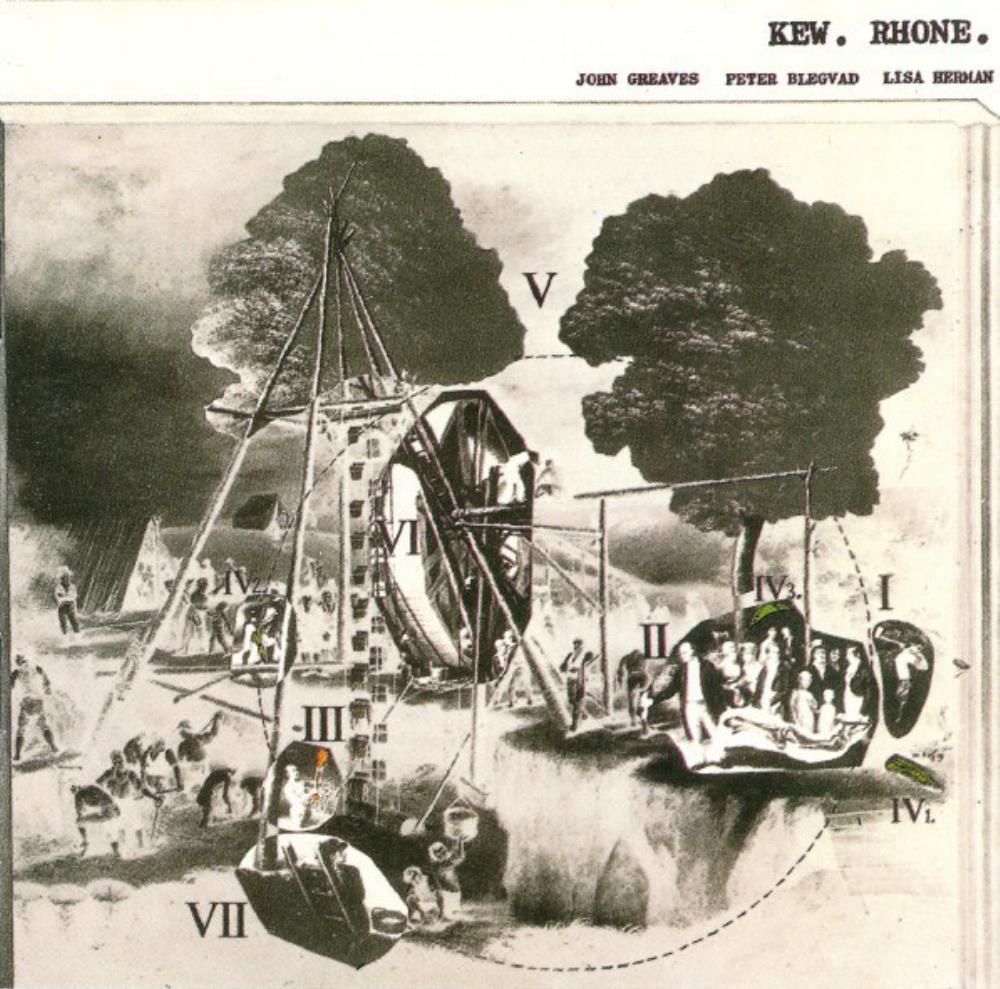 John Greaves, Peter Blegvad & Lisa Herman: Kew. Rhone. by GREAVES, JOHN album cover