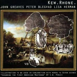 John Greaves - Kew Rhone CD (album) cover