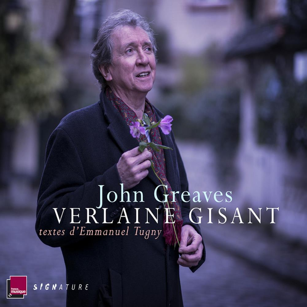 Verlaine Gisant by GREAVES, JOHN album cover