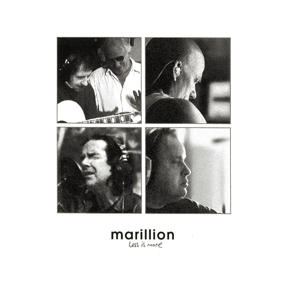 Marillion - Less Is More CD (album) cover