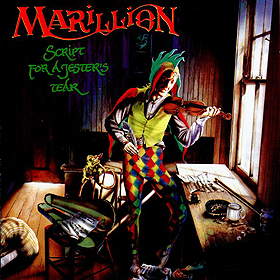Marillion - Script For A Jester's Tear CD (album) cover