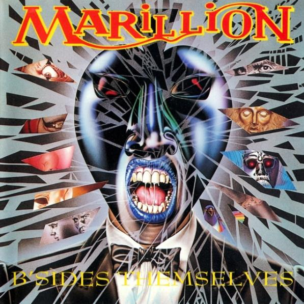 Marillion B'Sides Themselves album cover
