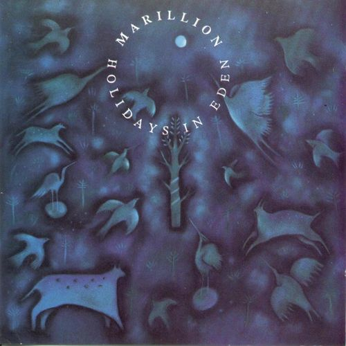 Holidays In Eden by MARILLION album cover