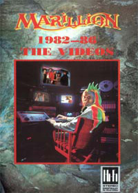 Marillion 1982-86 The Videos album cover