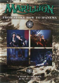 Marillion - From Stoke Row To Ipanema  - A Year In The Life (DVD) CD (album) cover