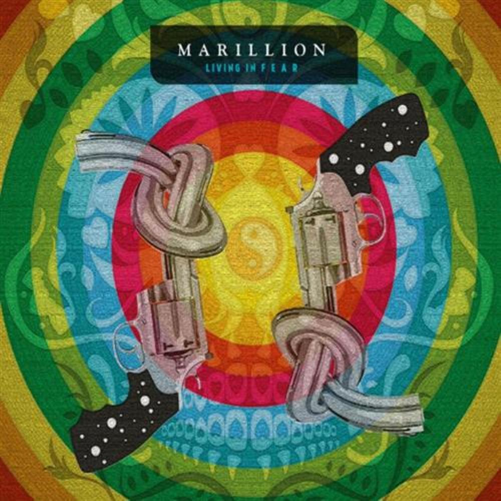 Marillion Living In F E A R album cover
