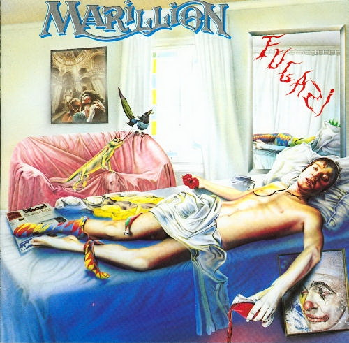 Marillion Fugazi album cover
