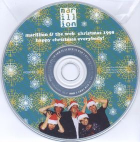 Marillion Marillion & the Web Christmas 1998 album cover