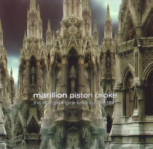 Marillion Piston Broke album cover