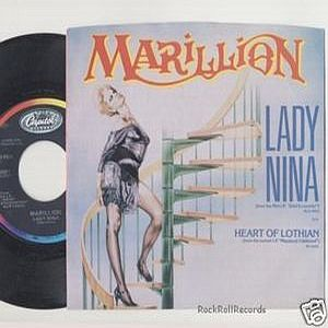Marillion Lady Nina album cover