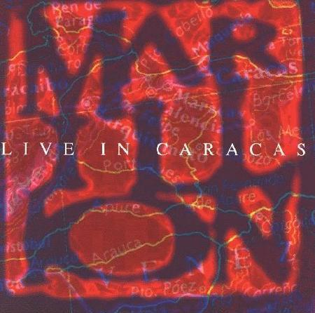 Marillion Live in Caracas album cover