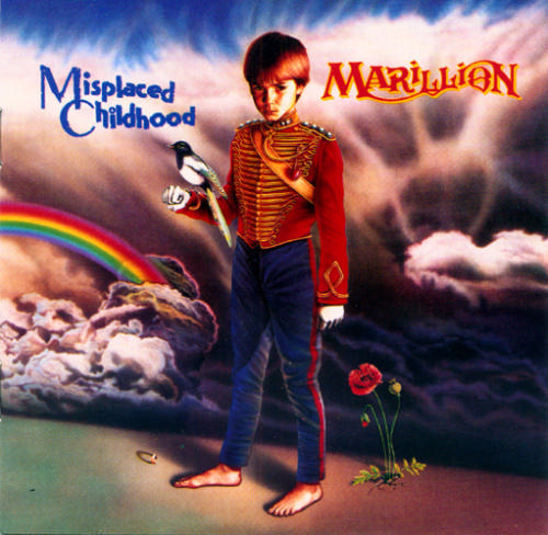 Marillion Misplaced Childhood album cover
