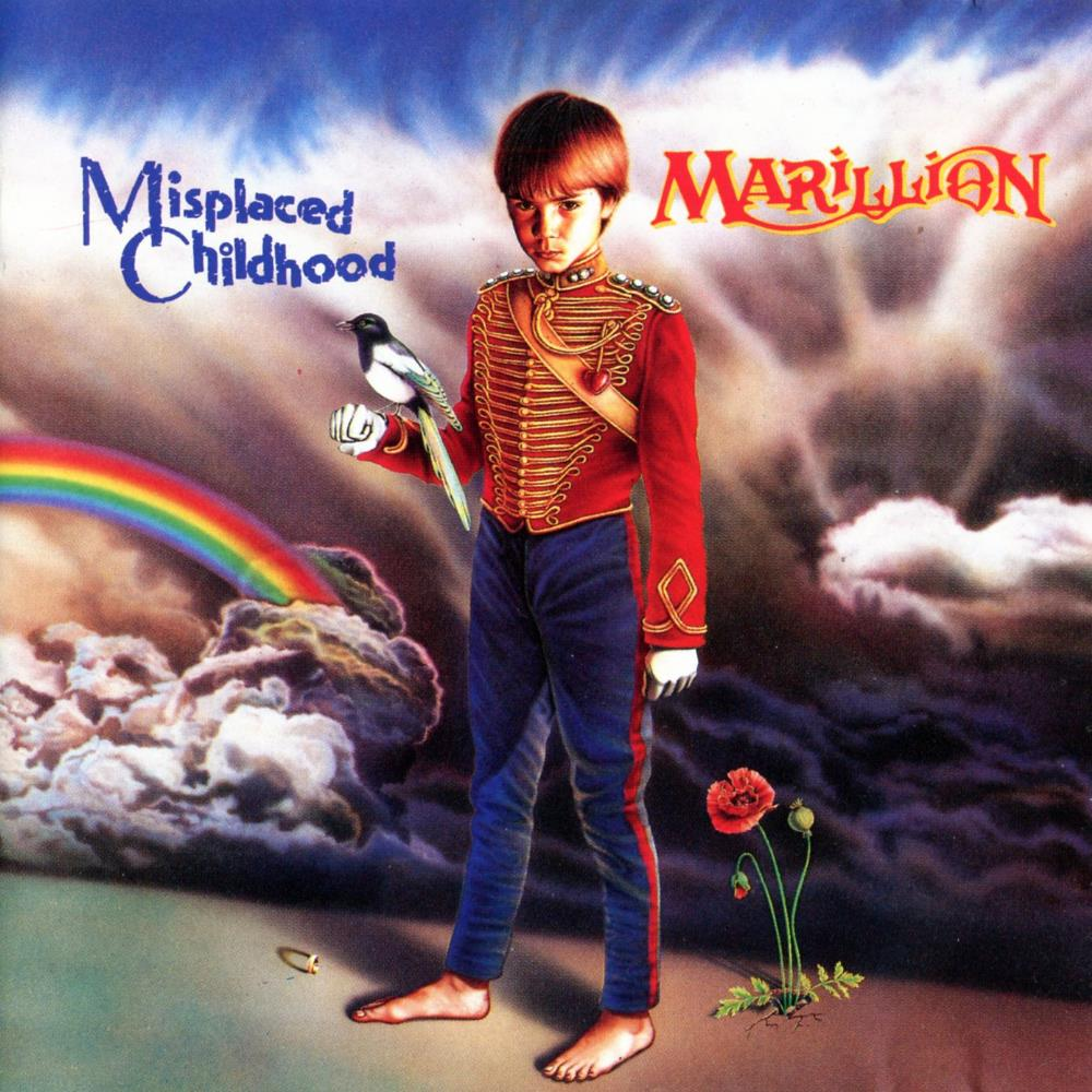 Misplaced Childhood by MARILLION album cover