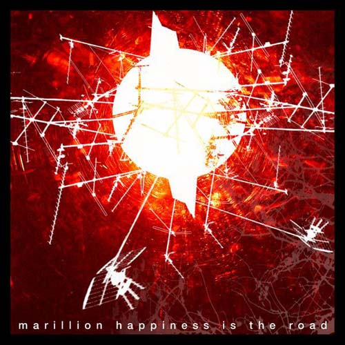 Marillion Happiness Is The Road album cover