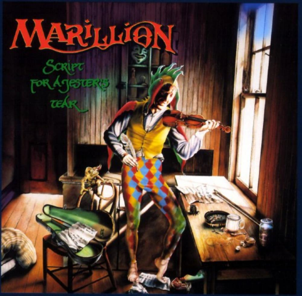 Script For A Jester's Tear by MARILLION album cover