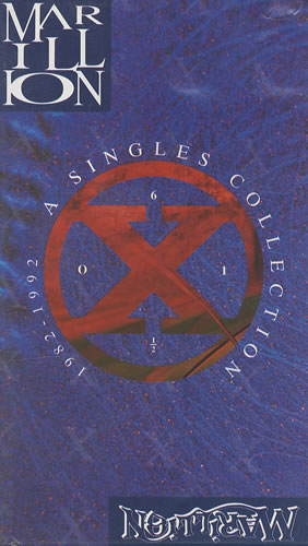 Marillion - A Singles Collection CD (album) cover