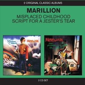 Misplaced Childhood / Script For A Jester's Tear by MARILLION album cover