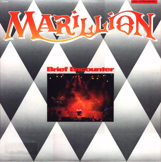 Marillion - Brief Encounter CD (album) cover