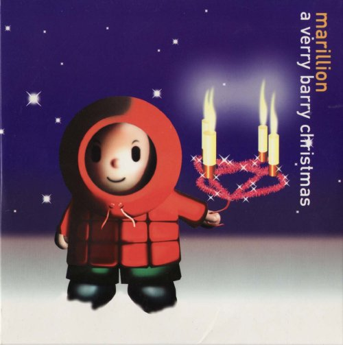 Marillion - A Verry Barry Christmas CD (album) cover