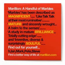 Marillion A Handful Of Marbles album cover
