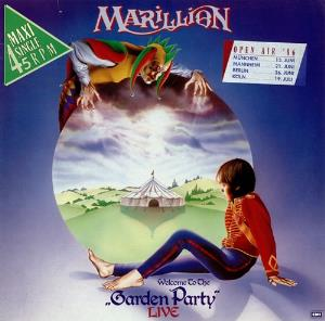 Marillion Garden Party Live album cover