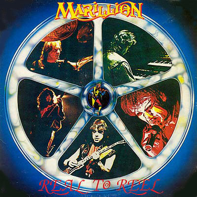 Marillion Real to Reel album cover