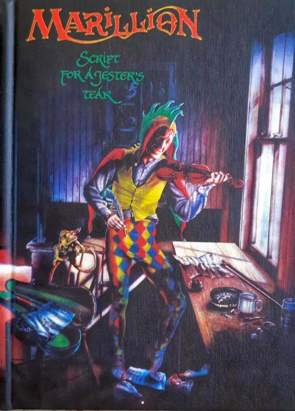 Script For A Jester's Tear (2020 Limited Deluxe Edition) by MARILLION album cover