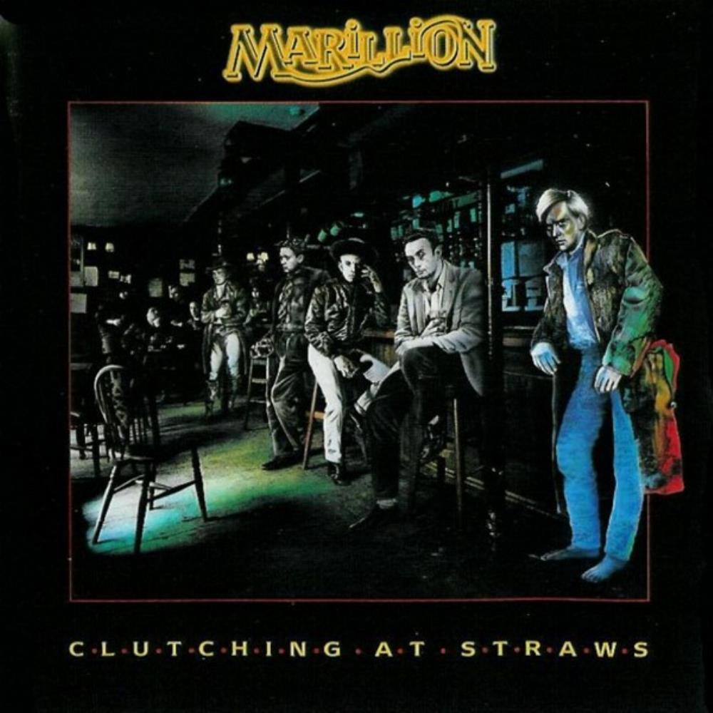Clutching At Straws by MARILLION album cover