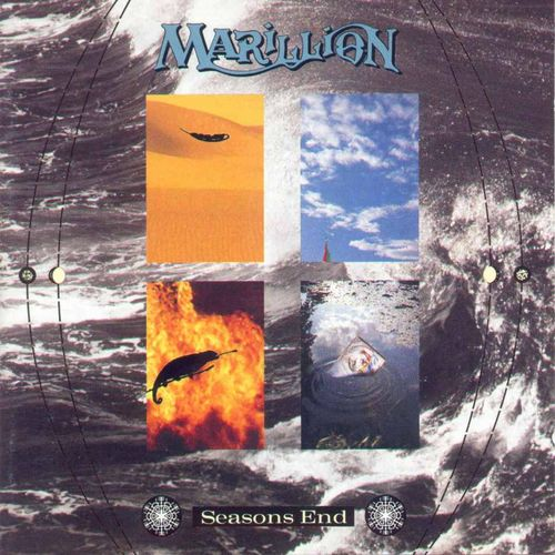 Seasons End by MARILLION album cover