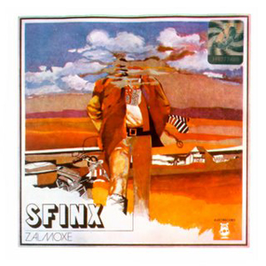 Sfinx - Zalmoxe CD (album) cover
