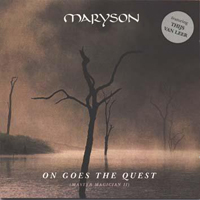 Maryson - On Goes The Quest (Master Magician II) CD (album) cover