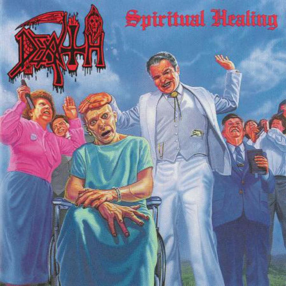 Death - Spiritual Healing CD (album) cover