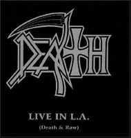 Death Live in L.A. album cover