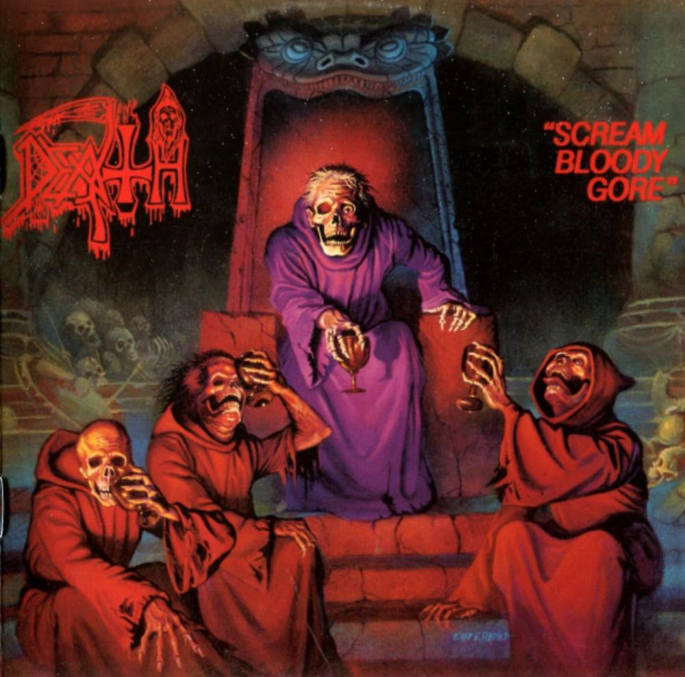 Scream Bloody Gore by DEATH album cover