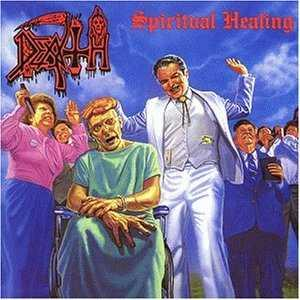 Death Spiritual Healing album cover