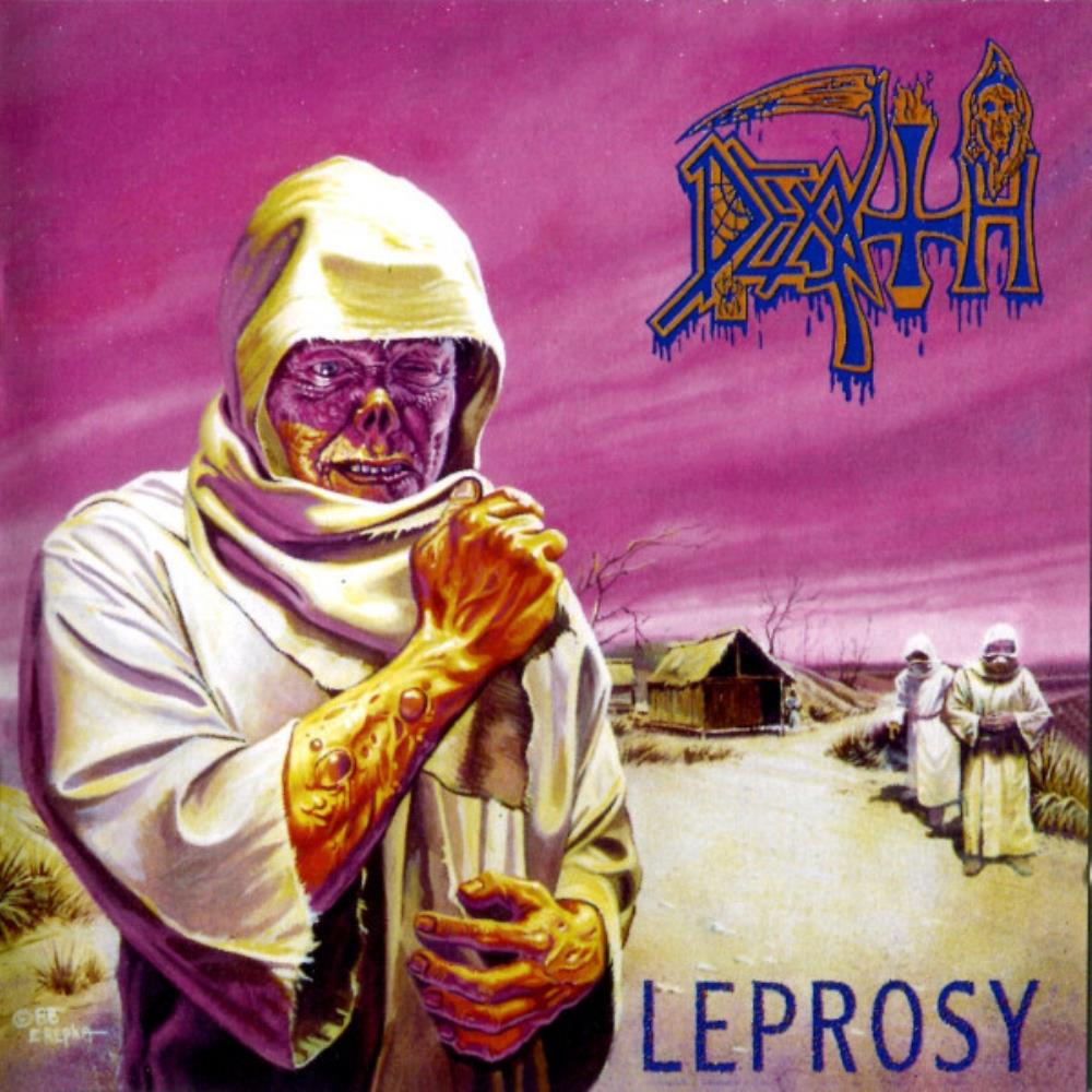 Leprosy by DEATH album cover