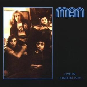 Man Live In London 1975 album cover