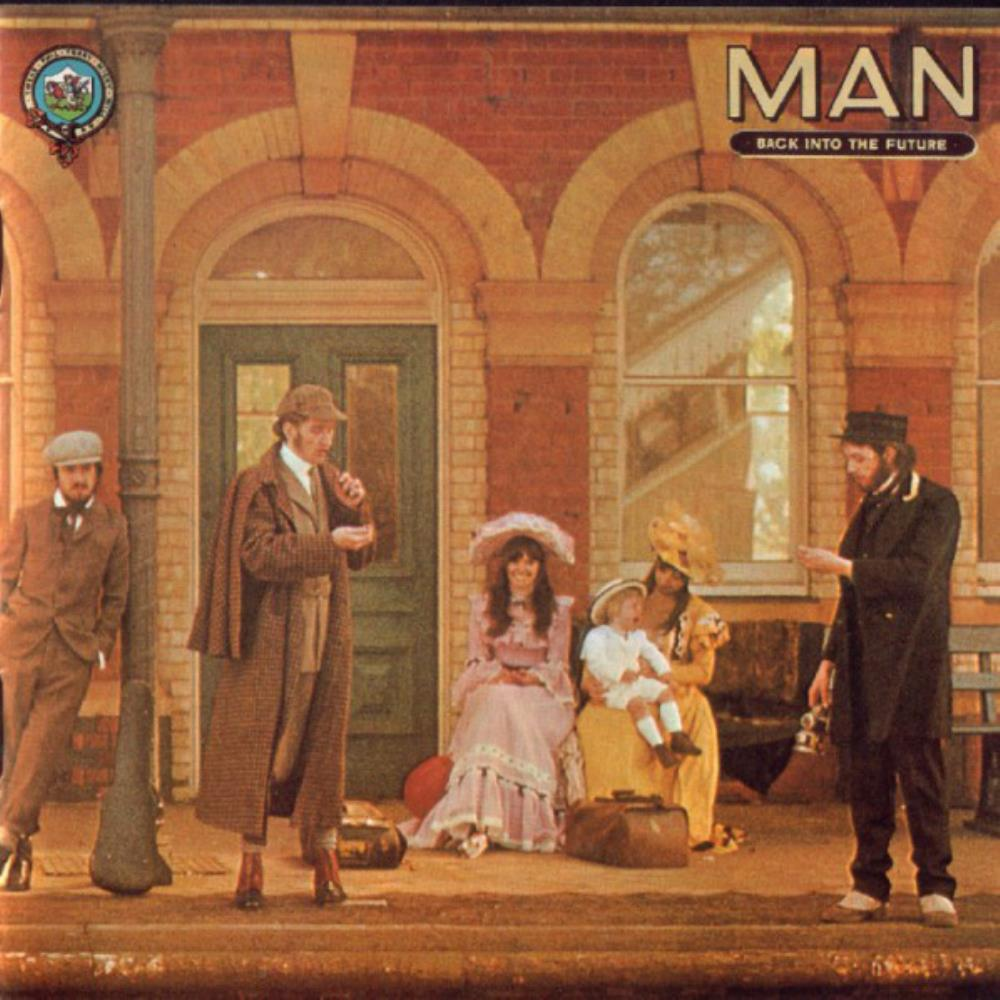 Man - Back Into The Future CD (album) cover