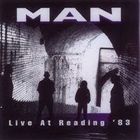 Man Live At Reading '83 album cover