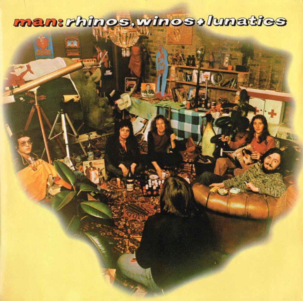 Man - Rhinos, Winos And Lunatics CD (album) cover